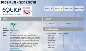 Databáze závodů v ORGSU slouží mimo jiné pro publikaci kalendáře závdů a detailu závodu.