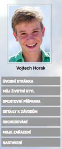 Login a profil atleta pro vaši webovou stránku od ORGSU