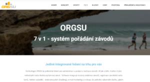 ORGSU, služba která za to stojí