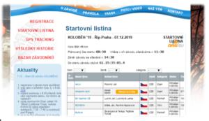 Orgsu nabízí online registrace, tedy přihlašování závodníků a týmů na vaše závody. Vše se zobrazuje přímo na vašem webu.